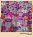 2014 nueva crepe impreso de algodón tejida tela tela