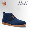 Free shipping free sample wholesale price men leather boots