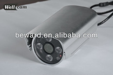 H.264 720P Hisiclicon3516 CPU 900MHz Hi Focus IR POE home surveillance camera installation