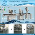 Automático garrafa pet garrafa pequena de água máquinas de engarrafamento/processo