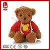 Stuffed Plush Toy Plush Teddy Bear in T-Shirt
