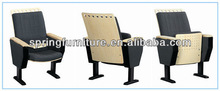 elegant comfortable auditorium chair and desks folding wood chair portable folding table and chair set AW-10