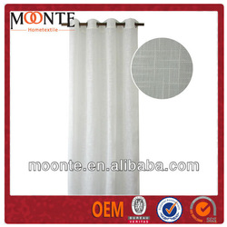 Polyester Silk Wholesale Decorative Curtain For Restaurant