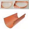 COPPER RAIN GUTTER BRACKET---6 Inch Half Round Copper Gutter System
