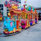 Family rides electric train rides cartoon amusement games