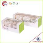 Wholesale Custom Cheap Single Mini Cardboard Paper Packaging Cupcake Box