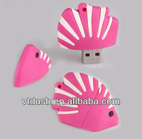 Wholesale Fish Usb Flash Drive pens flatfish Wholesale high speed 100% full capacity fish usb flash disk drive pendrive