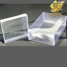 High quality low price rigid PET film food packing folding box