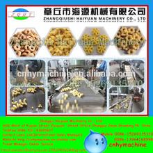 HAIYUAN factory supplier 100-500kg/h puffed corn snack machine