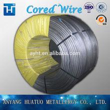 Ferro Calcium/Ca-Fe cored wire for steelmaking