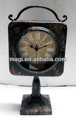 New Style Antique Art Decoration Table Clock