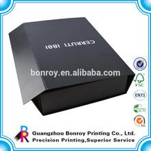 offset printing cardboard book style display box