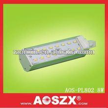 AOSZX Producer High Lumens 5630 SMD E27 8W PL LED Lamp G24