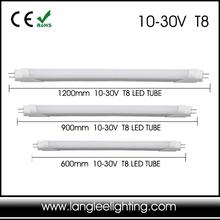 New LED Tube Lighting 10-30V LED Tube T8 12V 24V 60cm 90cm 120cm