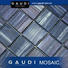 deep blue bisazza golden line glass pool mosaic tile