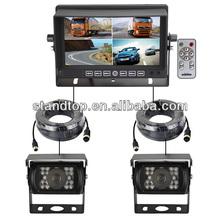7 inch car reversing truck camera system