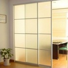 Made in China! white frosted glass interior doors_white frosted glass