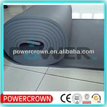 fire resistant waterproof high density rubber foam insulation roll