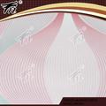 Venda quente do vinil revestido papel de parede / revestimentos