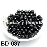 Natural Black Beads Jade Beads Diy Bracelet Jade