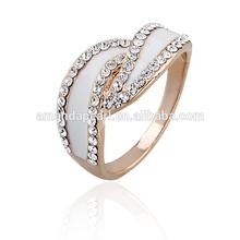 atacado atrativo especial baratos anéis de casamento para mulheres