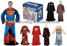 print snuggie, TV blankets with sleeves, promotion snuggie, snuggie fleece blankets