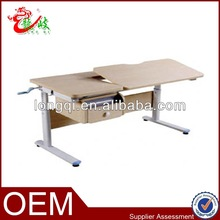 top quality best sell height adjustable children drawing desk S-002D