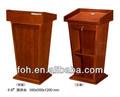 De madera mesa de conferencia, podio de la iglesia, el hotel podio( fohk- 6b)