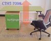 Pregrada handle crank adjust height office table&Vrgorac executive laminate l shape desk&Grubisno Po height adjusted office desk