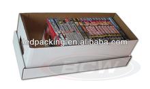 Corrugated carton box for CD