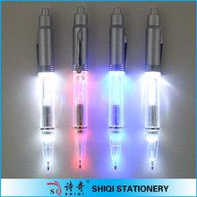unique design import ballpoint pen new light pens