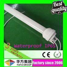 2015 hottest 4000k 9w 600mm t8 waterproof fluorescent light fixtures ip65
