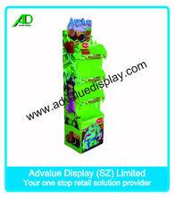 OEM/ODM custom design POP folding cardboard display