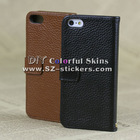 new design 2014 litchee leather case for iphone5 /5s