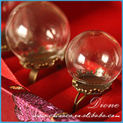 p-Factory produce!! glass ball beads hollow wholesale in factory price