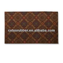 USA Microfiber rubber kitchen floor mats,flocking rubber mat