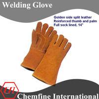 buffalo leather work glove for welding job