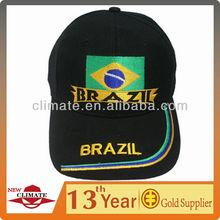 Brazil World Cup Baseball Cap/Custom Baseball Cap