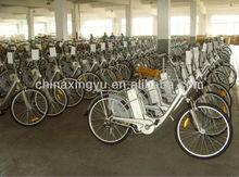 Front & rear lights battery operated electric bike EN15194 XY-EB008