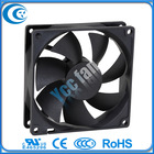 Good quality DC 90x90x25mm external cooling fan with 12/24v voltage