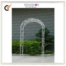 Knock down package metal garden arch trellis
