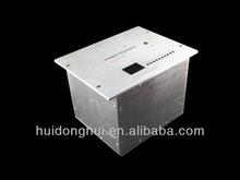 aluminum electronic alumium mini itx case enclosure chassis