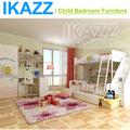 Mdf bon cafe meubles de l'enfant avec un lit superposé escaliers costco