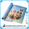 Soft cover souvenir book design printing