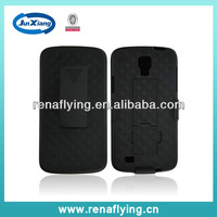 2014 weave pattern holster combo case for samsung galaxy s4 active i9295