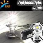 2013 HOT!!! USA CREE H4 led headlight Skoda Octavia led headlight Auto Car Motorcycle 25W 1800LM led headlight