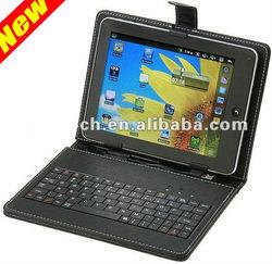 USB Leather Tablet Keyboard Case 7/8/9/10 kids 7 inch tablet case