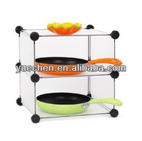 2014 new product Creative DIY storage rack of kitchen dishes sauce pan