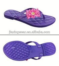 New style flat wedding sandals for footwear and promotion,light and comforatable