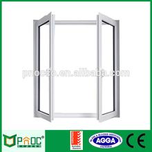 Aluminium Crank outswing casement window with Siegenia Hardware PNOC084CMW